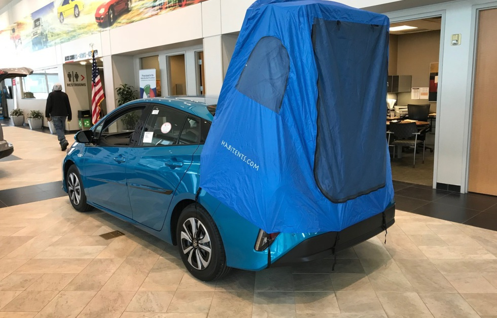 Habitents Prius Tent For Hatchback Car Camping