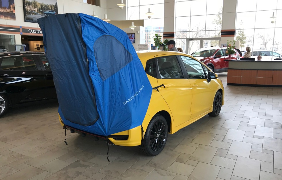 Habitents Prius Tent For Hatchback Car Camping About